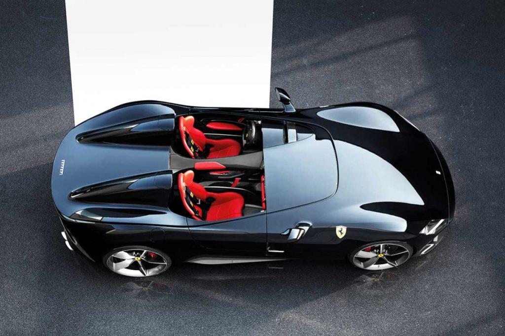 Ferrari Monza SP1 von oben