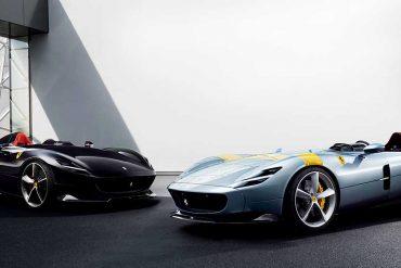 Zwei Ferrari Monza SP1