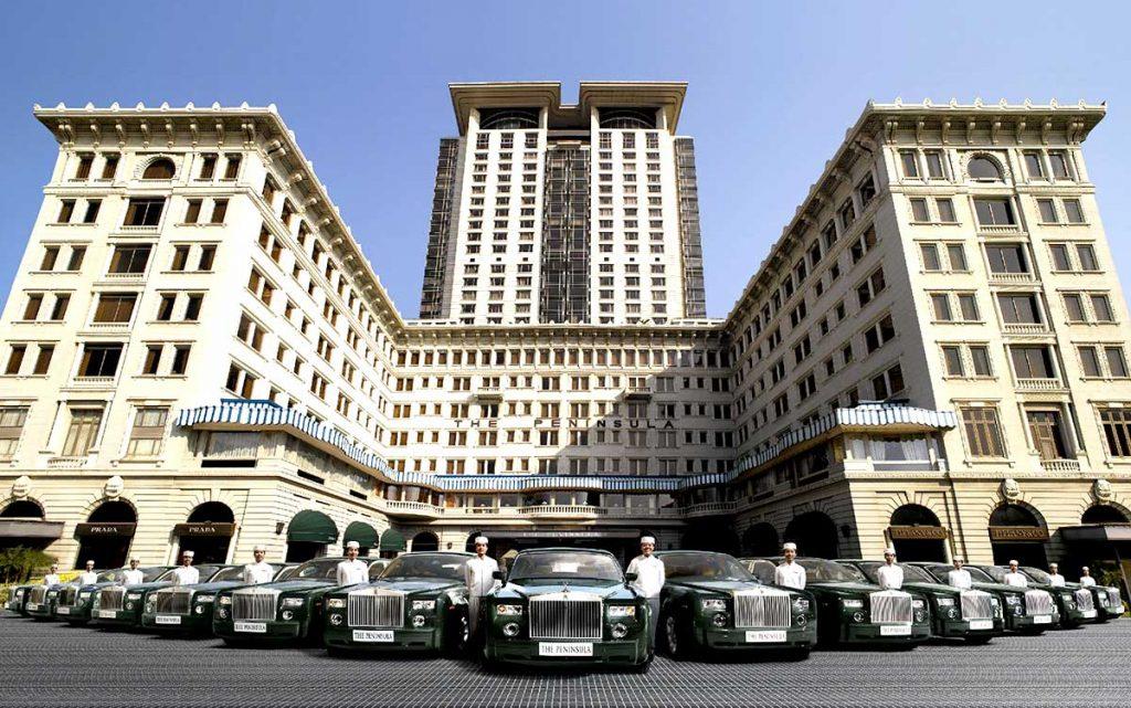 Die Peninsula Flotte an Rolls Royce Phanthoms