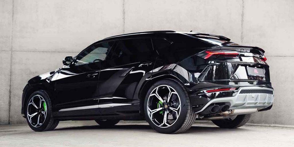 Schwarzer Lamborghini Urus
