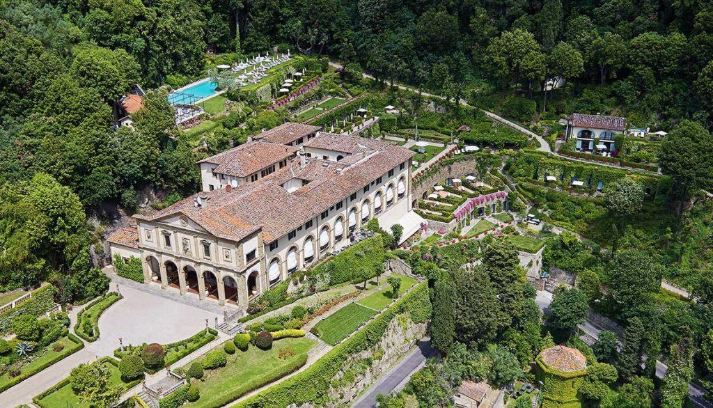 Blick auf die Belmond Villa San Michele