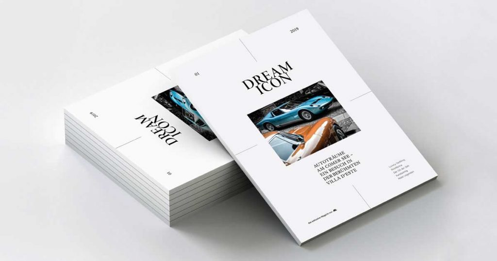 DREAM ICON Printmagazin Erstausgabe