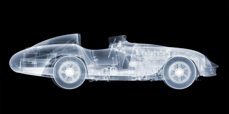 x-Ray Eines Oldtimers, Röntgenbild von Nick Vaesey
