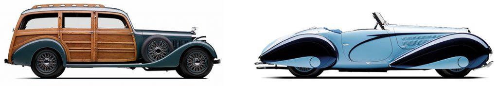 Fahrzeuge aus Peter Mullins Sammlung
