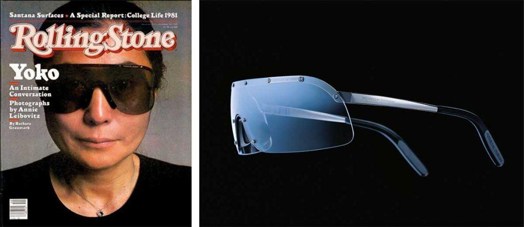 Yoko Ono Sonnenbrille