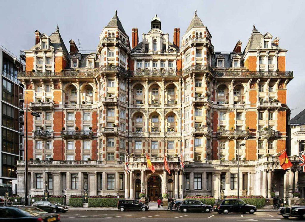 Frontansicht Mandarin Oriental London