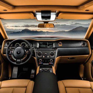 Rolls Royce Cullinan Innenraum