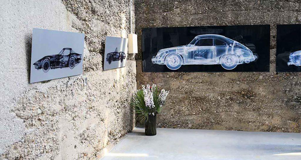 Künstler Nick Veasey nutzt die Röntgentechnologie, Galerie X-Ray Fahrzeuge