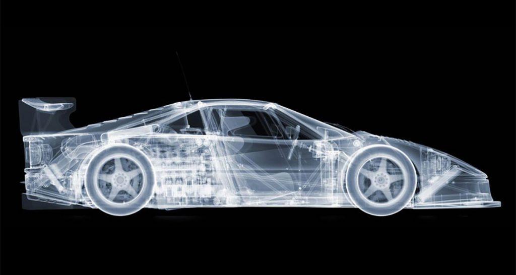 Künstler Nick Veasey nutzt die Röntgentechnologie, X-Ray Fahrzeug