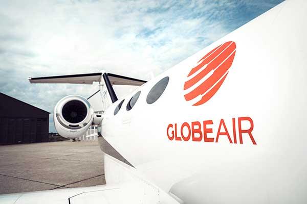 GlobeAir Privatjet Detail
