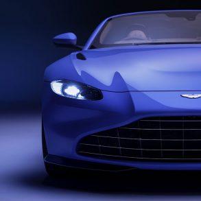 Aston Martin Vantage Cabrio von vorne