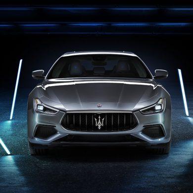Maserati Ghibli Hybrid Frontansicht