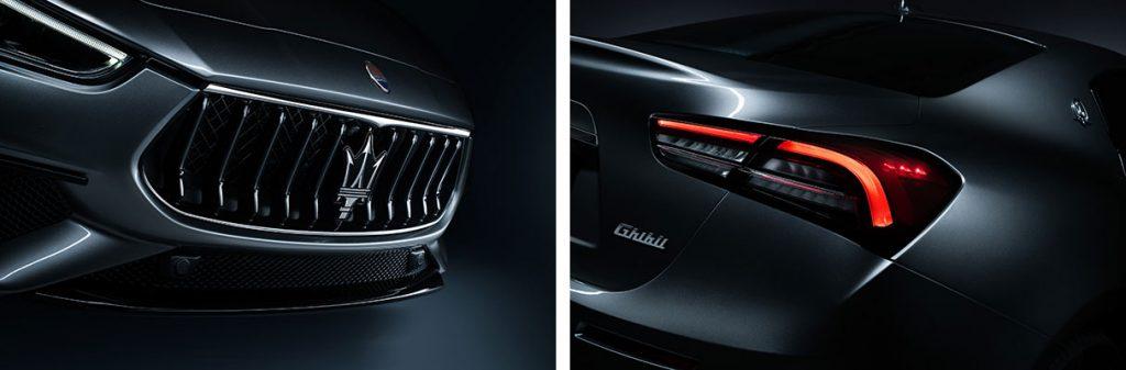 Maserati Ghibli Hybrid, Neues Design des Frontgrills und des Lichtclusters am Heck