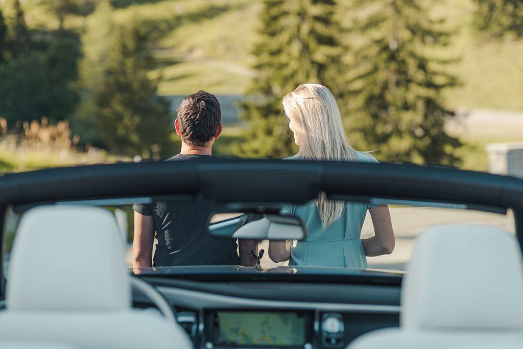 Windschutzscheibe Rolls Royce Dawn