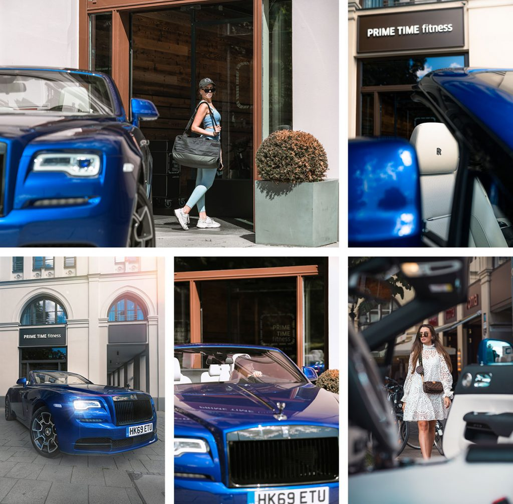 Rolls Royce Dawn in München
