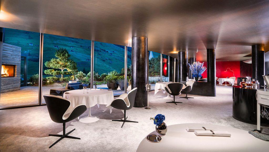 """Das """"Silver"""" mit atemberaubender Aussicht nach draußen im 7132 Hotel"""