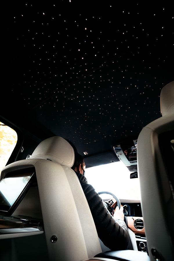 Rolls Royce Ghost Persönlicher Sternenhimmel im Innenraum